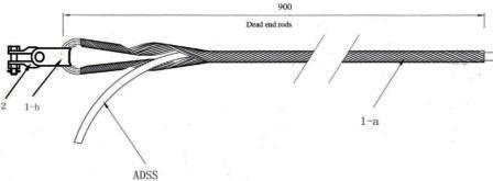 bộ néo cáp ADSS KV 150-200